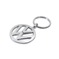 Genuine Volkswagen Stainless Steel Keyring