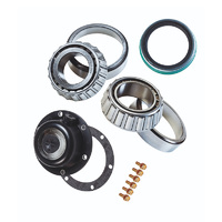 Trailer Axle Bearings / Standard Seal / Hub Cap Kit
